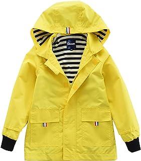 Hiheart Boys Girls Waterproof Hooded Jackets Cotton Lined...