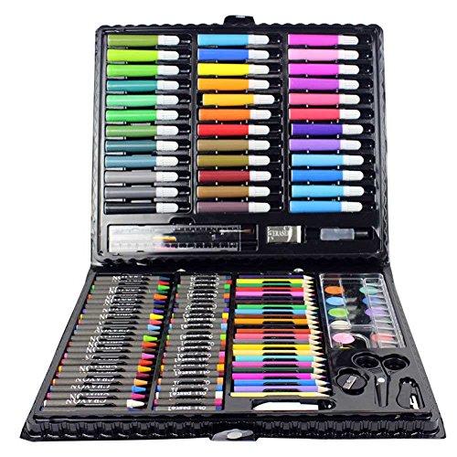 Aemiy 150 Unids/Set Kit de Herramientas de Dibujo con Caja