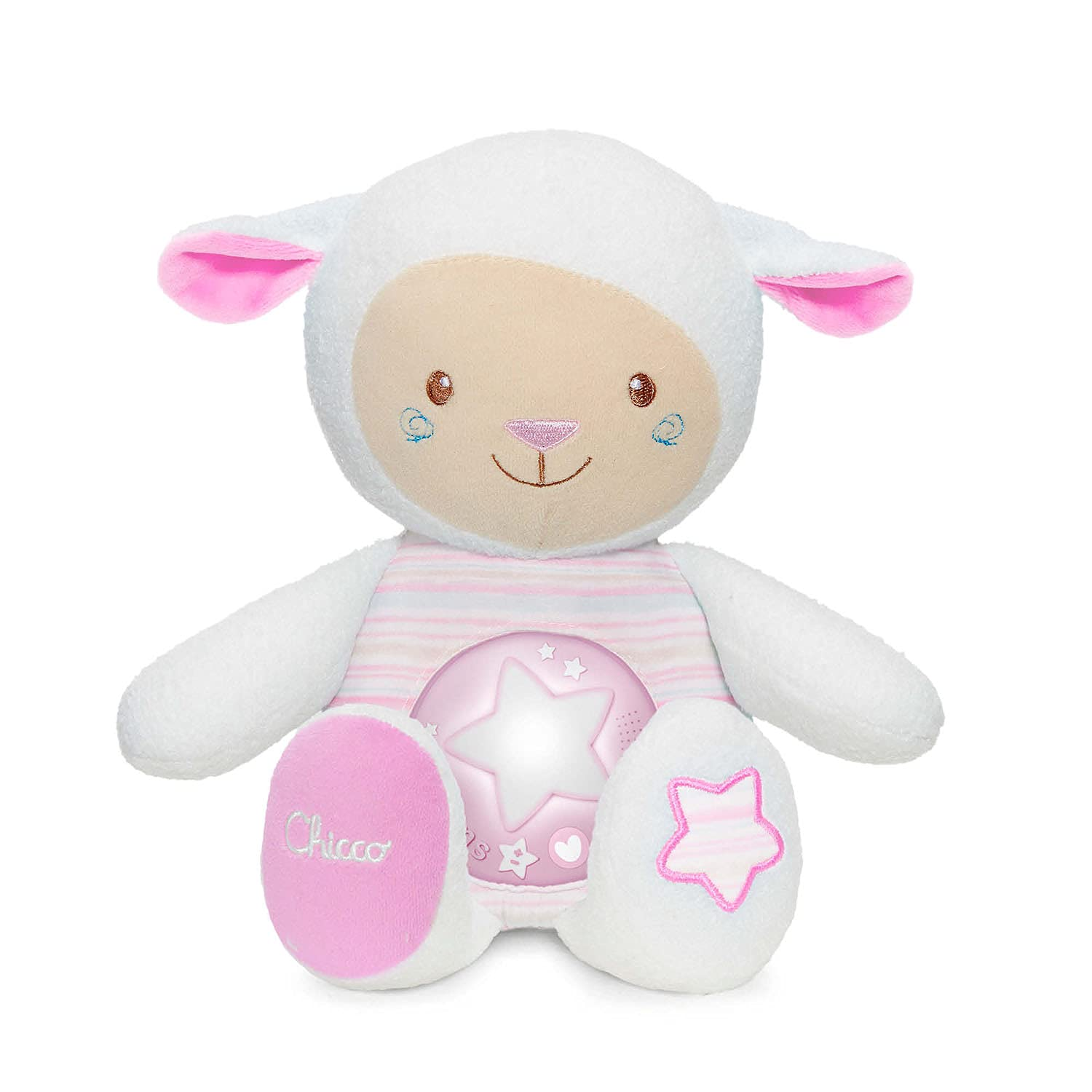 chicco Lullaby Sheep Rose Light 2021 Night Voice Opening large release sale Recorder