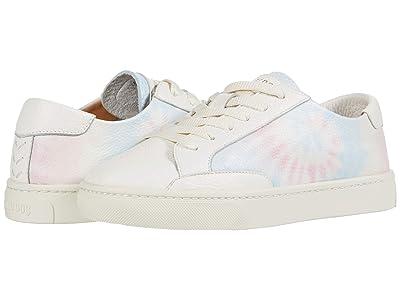 Soludos Ibiza Classic Tie-Dye Sneaker (White) Women