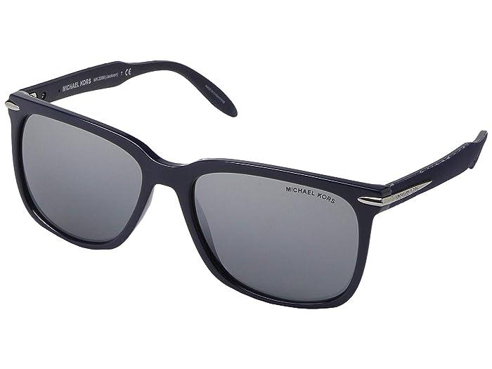 Michael Kors  58 mm Jackson MK2096 (Midnight/Silver Mirror) Fashion Sunglasses