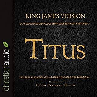 Holy Bible in Audio - King James Version: Titus cover art