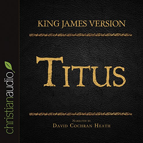 Holy Bible in Audio - King James Version: Titus audiobook cover art