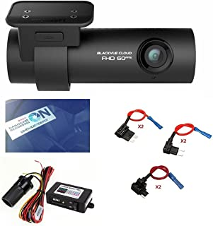 HDVD BlackVue DR750S-1CH 64GB, Car Black Box/Car DVR Recorder with Power Magic Pro, Built-in Wi-Fi, Cloud, 1080p Full HD, 60FPS, G Sensor, GPS, 16GB SD Card Included Fuse taps + Fuses