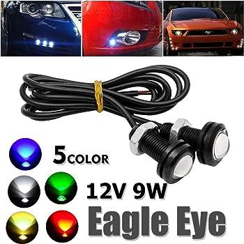9W Eagle Eye Lamp Daylight LED DRL Fog Daytime Running Car Light Tail Light New