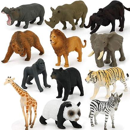Opzionale Colore Chiaro Giocattolo Coccodrillo in Plastica Morbida per Bambini Colore Scuro Colore Chiaro Dilwe Giocattolo Modello Animale