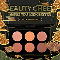 Matte Blusher, Face Blush Powder Convenient for Daily for Home