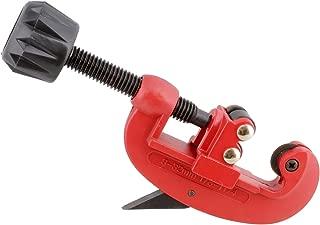 ABN Copper Pipe Cutter, 1/8in to 1-1/4in (3-32mm) Tubing Cutters, Aluminum Pipe Cutter, Brass Tube Cutter 1-Pack