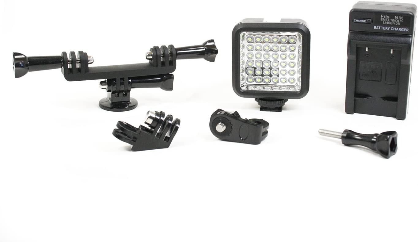 Max 50% OFF Phonoscope Inventory cleanup selling sale LED Lighting Kit with Dual Setup. Mount Studio Add