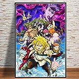 Xevkkf Pintura 5D DIY Diamante_Anime De Dibujos Animados 30X45Cm_Bricolaje Completo Taladro Arte, Diamantes Imitación Bordado Pegatinas De Pared Decoración De La Sala