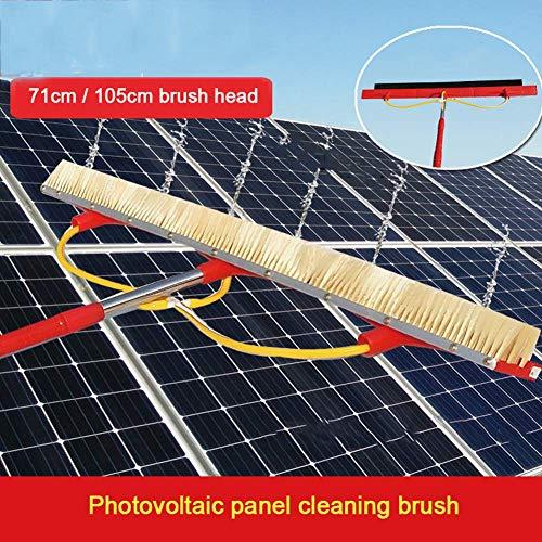 HFJKD Pulizia di Pannelli fotovoltaici e solari, Pulizia del Set di Lavaggio per Camion Vetrata/Palo da 4,7 m/Testina da 105 cm