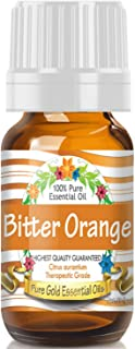 Pure Gold Bitter Orange Essential Oil, 100% Natural & Undiluted, 10ml