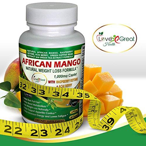 African Mango Natural Weight Loss Formula