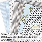 Sugarapple Baumwollstoff Stoffpaket für Patchwork DIY 7