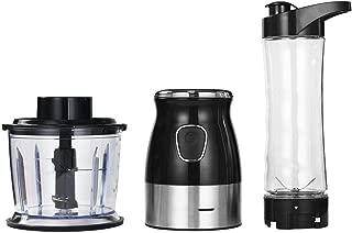 500W Portable Personal Blender Mixer Food Processor With Chopper Bowl 600ml Juicer Bottle Meat Grinder Baby Food Maker,Standard 2 in 1,C,EU Plug