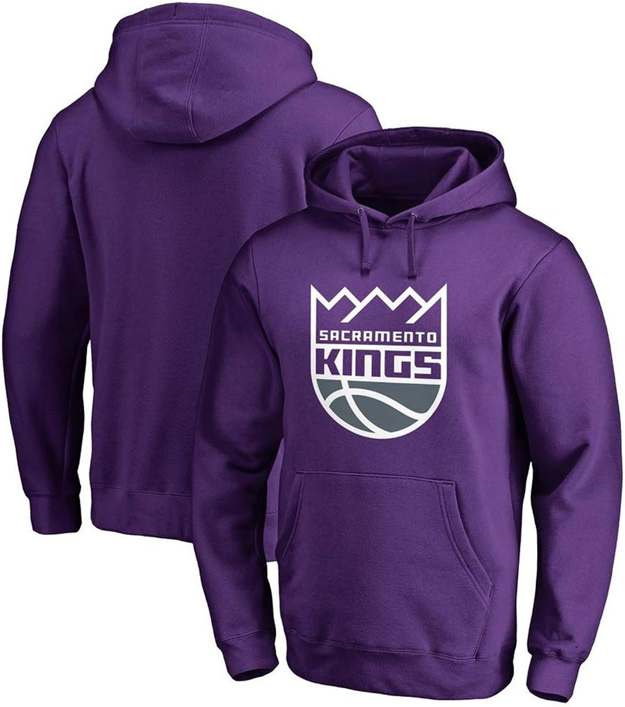 Hoodie NBA Sacramento Kings Basketball Team Warme und Bequeme Tops S-3XL