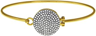 Women's Brilliance Tension Bangle Gold One Size
