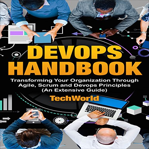 The DevOps Handbook audiobook cover art