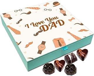 Chocholik Fathers Day Gift Box - I Love You Dad Chocolate Box - 9pc