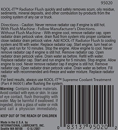 Lubegard 95020 Kool-It Radiator Flush, 16 oz.