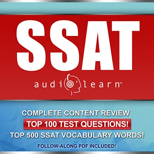 SSAT AudioLearn: Complete Audio Review for the SSAT (Secondary School Admission Test) audiobook cover art