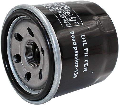 Road Passion Filtre à l'huile pour SV650 650 1999-2009 SV650 SA 650 2010 SV650S 650 1999-2010 SV650SF 650 2009