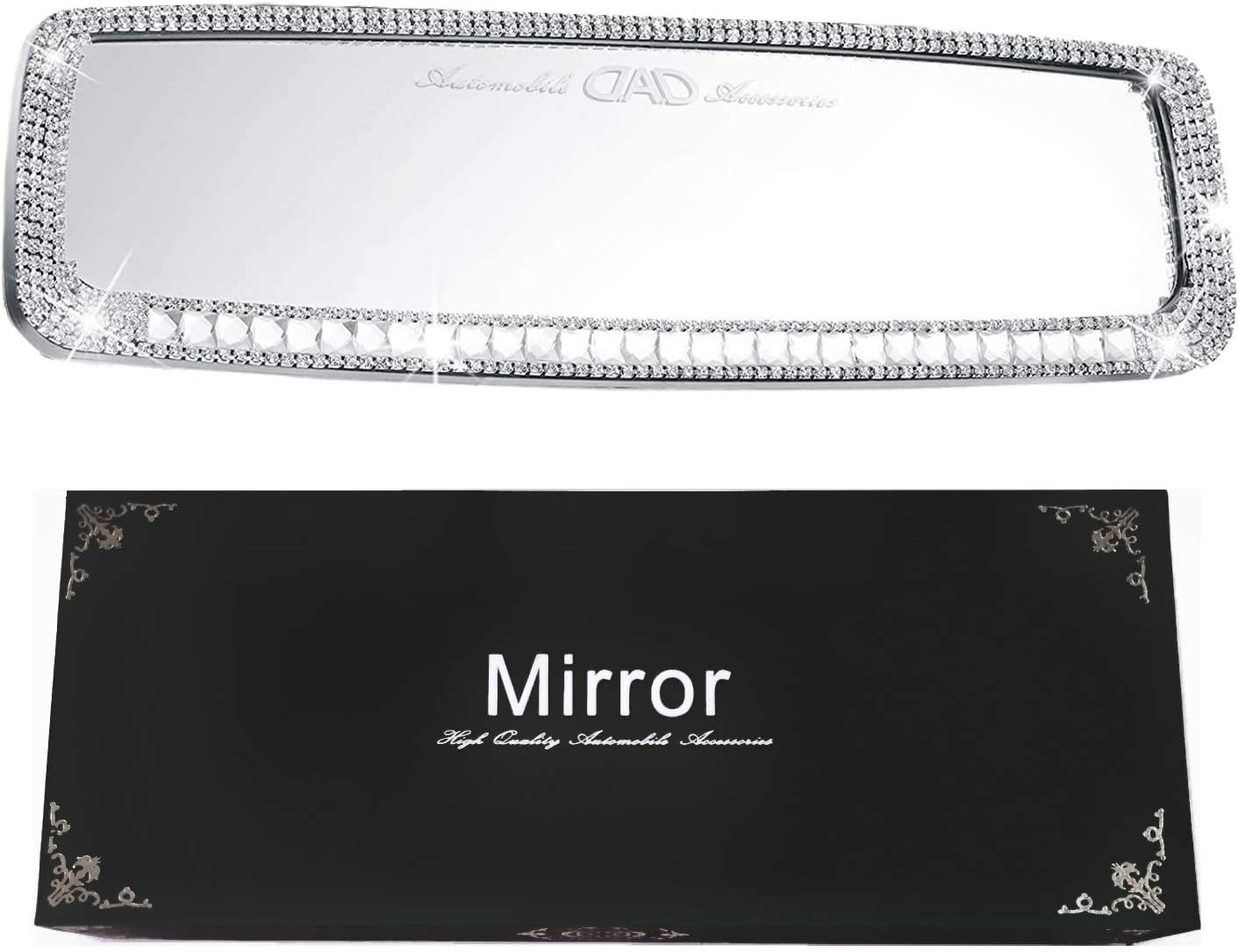 Car Long Beach Mall Bling Rearview Mirror Cover Accessories Women half and Man Bl for
