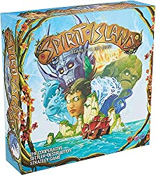 Best Solo Strategy Board Games spirit island box