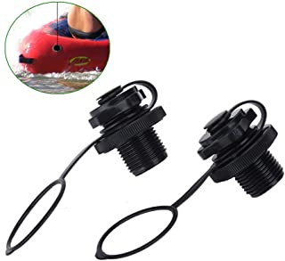 Inflatable Air Valve Replacement Screw Air Valve for Inflatable Rubber Dinghy Raft Pool Boat Fishing Boats 2pcs