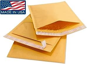Wholesale Kraft Bubble Mailers Padded Bubble Envelopes for Ebay Paypal Shipping Envelopes Sizes #0 #00 #000 #1 #2 #3 #4 #5 #6 #7! (#00 - 250 Envelopes - 5