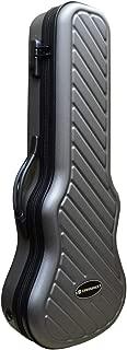 Crossrock CRA400TUGY Zippered Hardshell Tenor Ukulele Case with Password Lock-Grey (CRA400TUGR