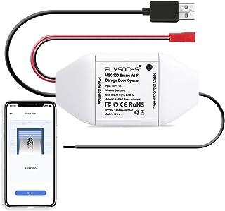 Puerta de Garaje Inteligente Control Remoto Inalámbrico, Compatible con Alexa, Google Assistant, no Requiere Hub