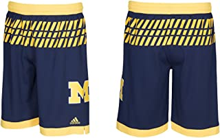 adidas Michigan Wolverines 2016 March Madness Adult Shorts (Medium) …
