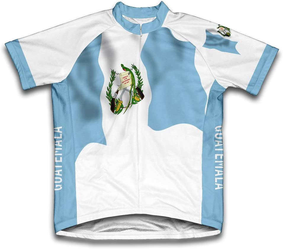 ScudoPro Guatemala Flag Short Sleeve Jersey Jacksonville Mall Women for Max 46% OFF Cycling