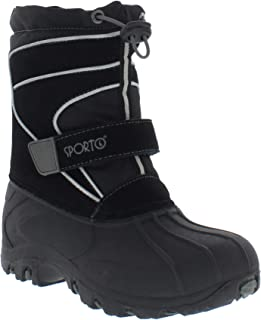 Sporto Boys and Girls Blizzard Double Closure Snow Boot