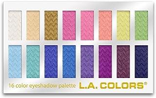 L.A. COLORS 16 Color Eyeshadow Palette, Haute, 1.02 Ounce (LA74202)