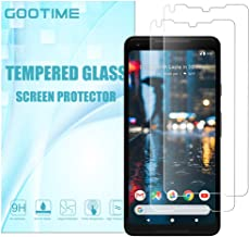 Pixel 2 XL Screen Protector Gootime Google Pixel 2XL Tempered Glass [Case Friendly] [Easy to Apply] Google Pixel 2XL Glass Screen Protector