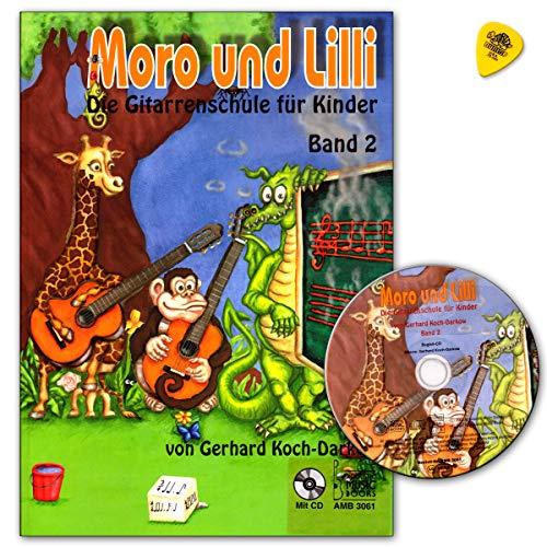Moro und Lilli Band 2 - Gitarrenschule für Kinder + CD - AMB3061 9783869470610