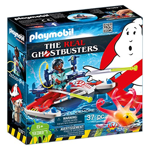PLAYMOBIL Ghostbusters Zeddemore con Moto