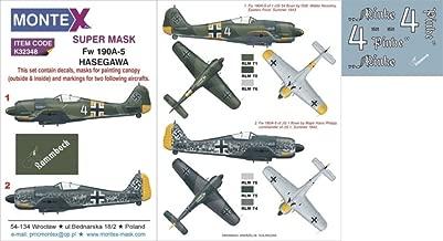 Montex Super Mask 1:32 Fw-190 A-5 for Hasegawa Spraying Stencil #K32348