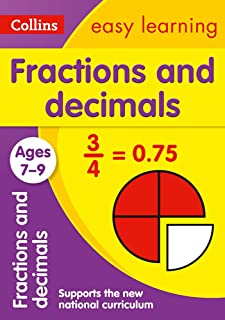 Fractions and Decimals Ages 7-9: Ideal for Home Learning