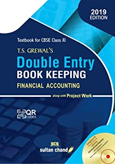 Double Entry Book Keeping (Financial Accounting): Textbook for CBSE Class 11