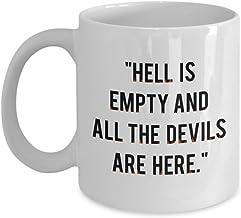 Shakespear Quote Mug - Shakespeare Mug - William Shakespeare Coffee Cup - Funny Tea Hot Cocoa - Novelty Birthday Gift Idea