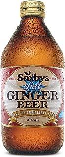 Saxby's Diet Ginger Beer, 8 x 375 ml, Diet Ginger Beer