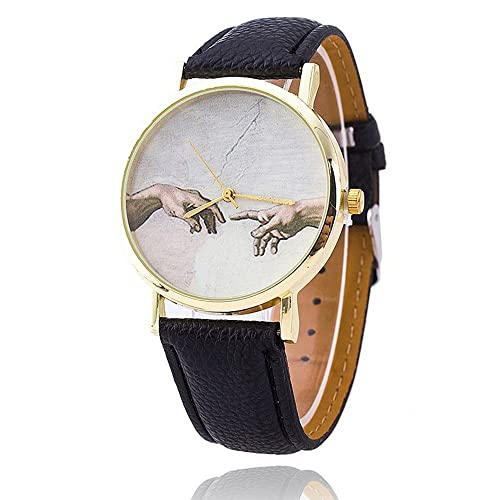 New Michelangelo Watch Sistine Chapel Renaissance Art for Ladies Women mens wrist watches
