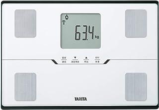タニタ 体重 体組成計 ホワイト BC-768 WH スマホでデータ管理 立てかけ収納OK