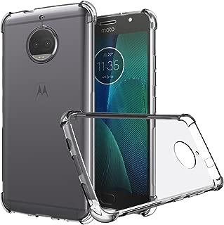 Moto G5 Plus Case, Zeking Ultra Slim Thin Anti-Scratch TPU Rubber Soft Skin Silicone Premium Protective Case Cover for Motorola Moto G5 Plus (Transparent)