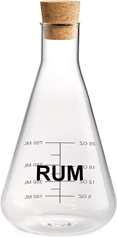 Mixology 25 Oz Decanter Finish Rum