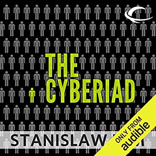 The Cyberiad audiobook cover art