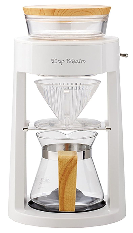 広く服電圧APIX 『Drip Meister』 コーヒーメーカー  ホワイト ADM-200-WH